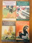 Vintage Lot of 11 SUCCESSFUL FARMING Magazines 1933 1934 Canadian Geese Chickens