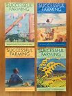 Vintage Lot of 10 SUCCESSFUL FARMING Magazines 1927 1931 1935 Beautiful Covers