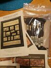 Feathered Nests Bird Houses Wall hanging Quilt Embroidery PATTERNS Complete KIT