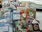 Lot of 25 Stampin Up Demonstrator Quality Hand Stamped Cards Lot 1