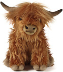 Soft Toy Large Plush 12 Highland Cow With Sound