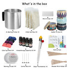 Candle Making Kit 05 lb Soy Wax Wicks Pitcher Fragrance Oil 4 Color Dyes