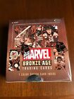 MARVEL BRONZE AGE TRADING CARD BOX; FACTORY SEALED RITTENHOUSE