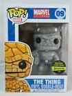 Marvel Funko Pop - The Thing (Black and White) - Gemini Exclusive - No. 09