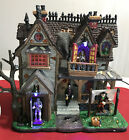 Lemax Spooky Town Halloween Village - BOOGIEMAN'S HANGOUT Lighted & Animated