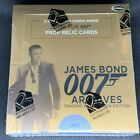 FACTORY SEALED! JAMES BOND ARCHIVES 2014 HOBBY BOOSTER BOX 2 AUTOS RITTENHOUSE
