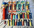 PEZ DISPENSERS LOT HALLOWEEN SUPER MARIO TOM AND JERRY SHARK JACK IN THE BOX!!!!