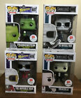 Funko Pop Walgreens Lot of 4 Monsters Frankenstein The Invisible Man Dracula