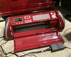 Cricut EXPRESSION Machine CREX001 RED VG Working condition W Org Power Cord