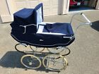 Perego Italian Vintage Blue Baby Carriage Pram Buggy Excellent Condition