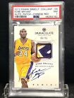 2012 Immaculate Kobe Bryant Patch Auto Chinese Red PSA NM 7 POP 1 none higher