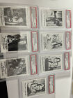 1964 Leaf The Munsters, Complete Set of 72 Cards, & Stickers Some Graded
