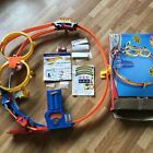 Hot Wheels Car Super Loop Chase Race Wall Track Set Motorized Open Box Complete