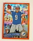 Matthew Stafford Football Cards: Rookie Cards Checklist and Buying Guide 16