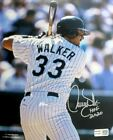 Larry Walker Rookie Cards Checklist and Autographed Memorabilia Guide 53