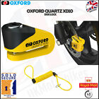 Oxford Quartz Motorcycle Strong XD10 Scooter Moped Disc Lock 10MM Pin  LK267