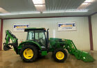 2015 JOHN DEERE 5055E TRACTOR WITH CAB A C AND HEAT 4X4