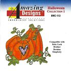 HALLOWEEN COL 1 BMC 113 Embroidery Card Ber Deco Baby Lock Brother Simp pes