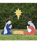 Outdoor Nativity Store Holy Family Outdoor Nativity Set Large Size color