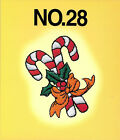 CHRISTMAS 28 Embroidery Card for Brother Baby Lock Bern Deco Simplicity pes