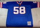 NWT Authentic Mitchell And Ness Carl Banks New York Giants Jersey Size Large