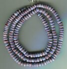African Trade beads Vintage Venetian old glass Awale chevron beads 4 layer