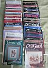 Lot of 78 41 Leisure Arts 37 For the Love of Cross Stitch Magazine Premier