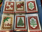 Lot Of 6 Recollections Christmas Light Up LED Card kits 12 Card Total