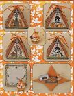 JUST NAN HAUNTED AUTUMN MOUSE IN A HOUSE CROSS STITCH CHART  EMB NIP