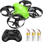 Potensic Upgraded A20 Mini Drone Easy to Fly for Kids and Green