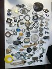 Huge Vintage to Now Jewelry Lot Estate Find All Wearable pendant charms 17 Lbs