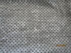 JOANNS COTTON FLANNEL QUILT BACKING 110 WIDE 5 YDS GREY DOT VERY SOFT