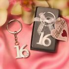 20 144 Sweet 16 Key Rings Birthday Party Favors