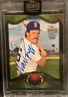 2021 Topps Archives Retired Edition Wade Boggs On Card 1 1 Auto! Topps Chrome