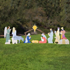 Outdoor Nativity Store Complete Outdoor Nativity Set Life Size Color