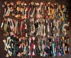 Lot 100 SKEINS DMC Embroidery Cross Stitch FLOSS THREAD No Duplicate Colors