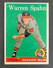 Warren Spahn Cards, Rookie Cards and Autographed Memorabilia Guide 4