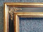 PICTURE FRAME- ORNATE GOLD BLACK- 11x14  # 980715