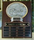 FANTASY FOOTBALL PERPETUAL 16 YEAR AWARD PLAQUE TROPHY