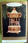 HALLMARK TOBIN FRALEY HOLIDAY CAROUSEL LIGHT & MUSIC