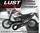 LUST RACING Yamaha XT660 XT660X XTX660 Lowering Kit 2004 onwards Links Linkage