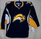 Buffalo Sabres Navy Authentic Rbk 6100 Jersey 52 As Is