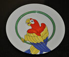 FITZ FLOYD PARROT IN RING 1979 SALAD / DESSERT PLATE #2