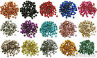 Loose Metal Studs lot of Hot Fix Iron on 5mm 16 Colors to choose from