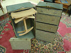Vintage Wardrobe Steamer Travel Chest Case Real Good Trunk Hole Proof w/Key RARE
