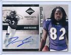 2011 LIMITED #32 TORREY SMITH AUTOGRAPH AUTO ROOKIE RC #8 50 - BALTIMORE RAVENS