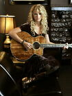 TAYLOR SWIFT COUNTRY STAR MUSIC 8X10 GLOSSY PHOTO WITH GUITAR