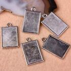 SM049910PCS Tibetan Silver Photo Picture Frame Beads Pendant Charms Findings