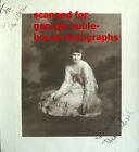 MAE MARSH PHOTO 10 x 12 VTG INSCRIBED DW GRIFFITH JOHN FORD