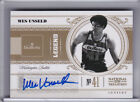 2010-11 NATIONAL TREASURES #137 WES UNSELD AUTOGRAPH WASHINGTON BULLETS #89 99